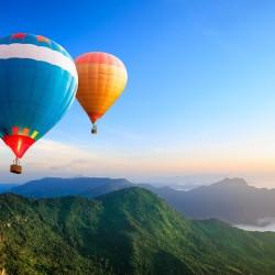 zbor cu balonul
